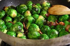 Tea And Dahlias: Brussels Sprouts