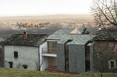 View full picture gallery of Alpine Foothills House Architecture Old, Contemporary Architecture, Architecture Details, House Of The Rising Sun, Stone Houses, Building Design, Exterior Design, House Design, House Styles