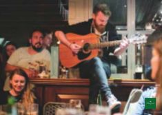 A late night jam session in the Butler's Rest! Wedding Spot, Post Wedding, Small Intimate Wedding, Rest, Bar, Night