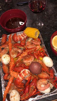 Excellent simple ideas for your inspiration Carne Asada, I Love Food, A Food, Seafood Boil Recipes, Cajun Seafood Boil, Crab Boil, Food Porn, Boiled Food, Seafood Dinner