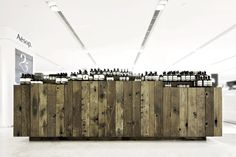 Pro Inspiration Board: Material and Construction: naturally aged planks, Aesop store, Hong Kong, by Cheungvogl