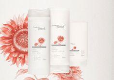 Conjunto Natura Plant Cor Viva - Shampoo + Condicionador + Creme para Pentear