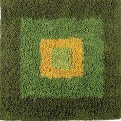 Alberta Shag Green-Yellow