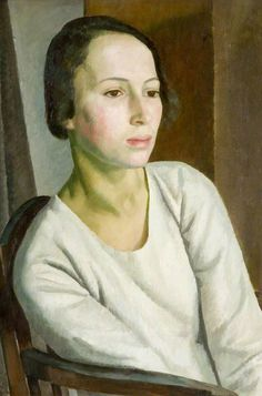 Girl in White  by Dod Procter