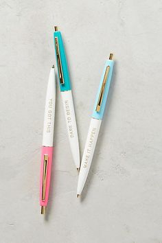 Helen Dealtry Motivation Pen Set Unique Gifts For Her, Gifts For Mom, Great Gifts, Home Deco, Cute Desk, Fashion Background, Pens And Pencils, Pen Sets, Material Girls
