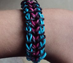 Zippy Chain Rainbow Loom Bracelet