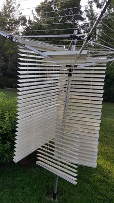 Great way to clean blinds.    Hang from your clothes line. Soap them up, rinse off with the hose leave them to dry. I used to clean them in the bathtub.  But then you have to clean the bathtub too! I like this better you have more control they are hanging up so it's much easier to see.  Hope this  short cut helps you.
