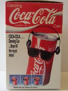 Dancing Coca-Cola Can (1989) by Takara Co., Ltd.. $44.95