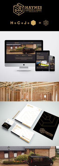 Basingstoke joinery experts Haynes Carpentry needed a new website design to promote their business and to act as a referral destination. Snap Marketing designed a new responsive website for the business, using images from his own work.