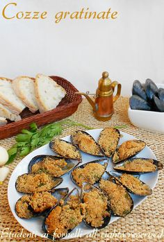 cozze gratinate al forno ricetta cozze tarantine saporite