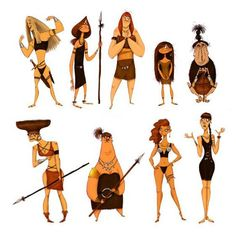 """Amazons"" by Olivier Silven*  • Blog/Website 