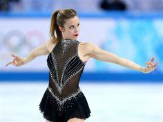 Sochi 2014 Day 2 - Figure Skating Team Ladies' Short Program,Black Figure Skating / Ice Skating dress inspiration for Sk8 Gr8 Designs