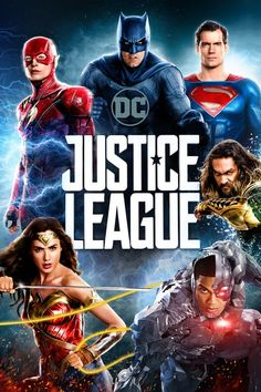 Justice League 2017 Fuelled by his restored faith in humanity and inspired by Superman's selfless act, Bruce Wayne and Diana Prince assemble a team of metahumans consisting of Barry Allen, Arthur Curry and Victor Stone to face the… Dc Movies, Hindi Movies, Action Movies, Movies To Watch, Movies Online, Movie Tv, Action Film, 1984 Movie, Hero Movie