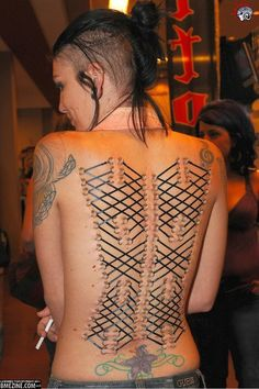 120-point corset piece.