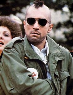 "'Taxi Driver' is a 1976 American psychological thriller starring Robert De Niro as ""Travis"" The Best Films, Great Films, Good Movies, Saint Yves, Chauffeur De Taxi, Military Field Jacket, Martin Scorsese, Taxi Driver, Actors"