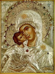 Icon of Our Lady of America. #God #Catholic #Christianity #Virgin #devotion #prayer #art #icons