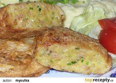 Hermelínové bochánky recept - TopRecepty.cz Cooking Light, Easy Cooking, Cooking Recipes, Czech Recipes, Ethnic Recipes, No Salt Recipes, Food 52, Main Meals, Potato Recipes