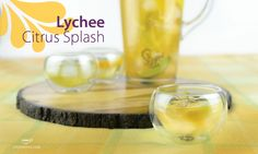 <p>Lychee Citrus Splash  Lychee and citrus mingle to create an easy-to-make and fantastic iced tea! Ingredients 3 tbsp Lychee Fruit Paradise 4 cups boiling water 1 cup simple syrup 1 sliced orange, lemon and lime ice Instructions Steep Lychee Fruit Paradise in a pitcher for 4-5 minutes before adding …</p>