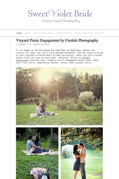 Featured on Sweet Violet Bride Blog Picnic Engagement, Sweet Violets, Classic Car Show, The Locals, Wedding Blog, Wedding Inspiration, Bride, Photography, Wedding Bride