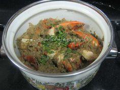 Goan Crabs Masala (koolli suke) Recipe With Coconut