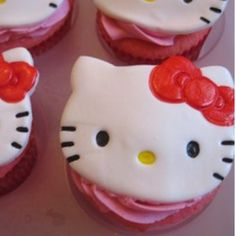 Hello Kitty Cupcakes Recipe