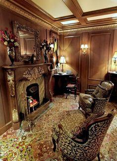 "A fireplace on the ""Titanic"" - what elegance aboard a ship Rms Titanic, Titanic Photos, Titanic Movie, Titanic Sinking, Titanic Wreck, Titanic Museum, Costume Titanic, Titanic Artifacts, Art Nouveau"