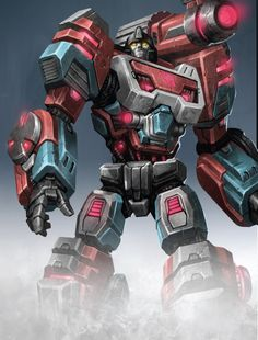 Transformers Fall of Cybertron Perceptor