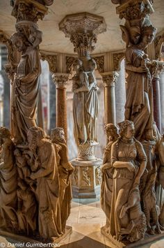 Pulpit in Pisa Duomo, Italy