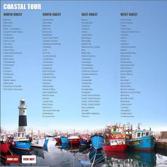 Just some of the 600 destinations you can explore with us on: http://www.wonderfulireland.ie/coastal-tour/#/