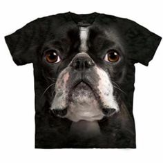 Take the dog you love every where with their face on your Human T-Shirt by The…