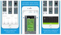 #Móviles #aplicaciones #diseño 2 herramientas para hacer prototipos de aplicaciones sin saber programar