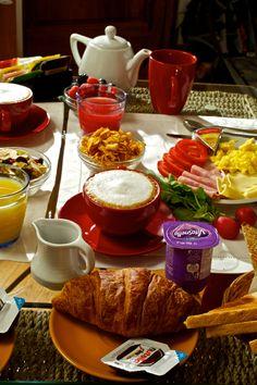 New breakfast at La Locandiera - Florence