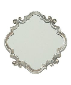 Take a look at this Silver Meadow Mirror by The Import Collection on #zulily today!
