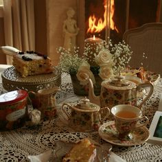 © Aiken House & Gardens: Fireside Afternoon Tea