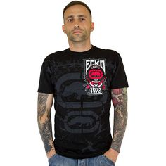 T-Shirt Ecko MMA Becomes Day red ★★★★★