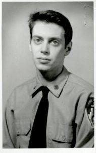 Jasmine Byrne в форме полицейского