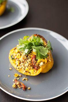 Oh-so-good Quinoa Stuffed Bell Pepper