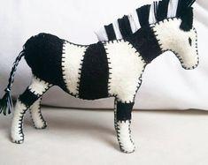 Natural toys wool felt animals role play Waldorf eco by Felthorses Safari Animals, Felt Animals, Felt Giraffe, Felt Gifts, Natural Toys, Colorful Animals, Waldorf Toys, Pattern And Decoration, Baby Elephant