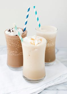 almOnd milk iced coffee shakes- non sweetened, coconut milk for this girl..hella yummy