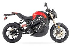 Brammo Empulse Electric Motorcycle, Top Speed 100mph.