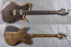 BlacKat Guitars SA6 Natural Wenge Top