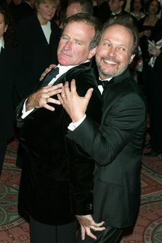 With Billy Crystal at an event honoring Crystal in 2003. Getty Images -Cosmopolitan.com