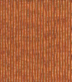 Seersucker Fabric-Vari Stripe Orange CottonSeersucker Fabric-Vari Stripe Orange Cotton,