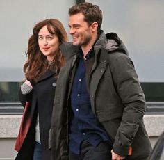 @lilyslibrary Dakota Johnson and Jamie Dornan, Fifty Shades Darker