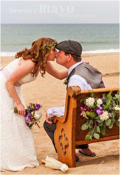 Nags Head Beach Wedding, Nags Head, Beach wedding, diy, Beach, wedding, Renee Landry Events, intimate wedding, july wedding, bouquet, wedding style, Brooke Mayo Photographers, www.brookemayo.com