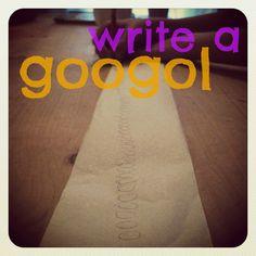 mamascout :: math lab - write a googol