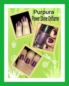 Hola a todos . Hoy os traigo un esmalte color Purpura Power Shine con acabado en brillo como los pintalabios de la misma marca la verdad queda muy chulo .