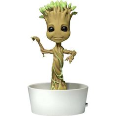 Guardians of the Galaxy Body Knocker Bobble-Figure Dancing Potted Groot 15  cm b32bceba7c