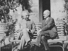 Albert Einstein and Arthur Stanley Eddington