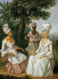 18th century Free woman of color